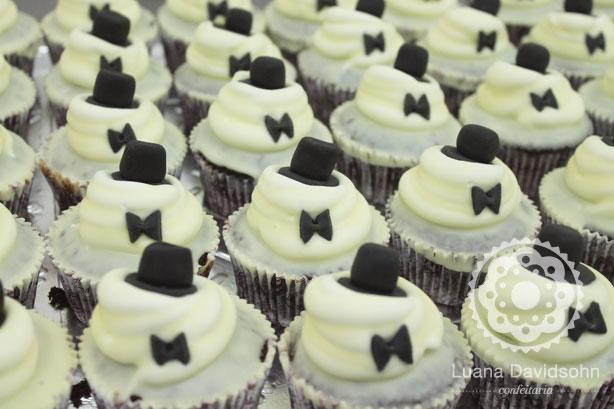 Cupcake para Casamento da Lígia | Confeitaria da Luana