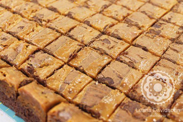 Brownie de Doce de Leite | Confeitaria da Luana