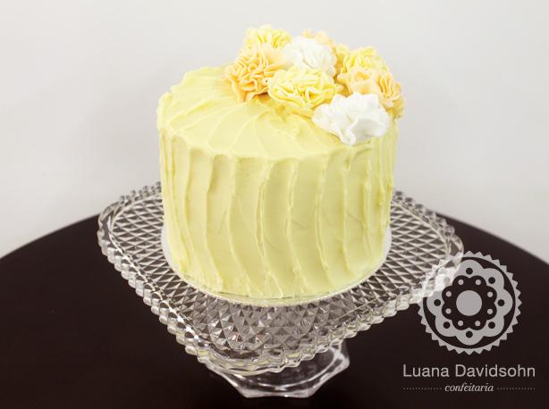 Bolo de Casamento Vintage | Confeitaria da Luana