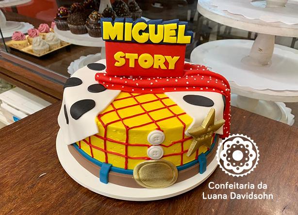 Bolo Toy Story | Confeitaria da Luana