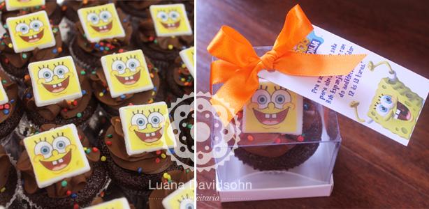 Cupcakes da Nickelodeon | Confeitaria da Luana