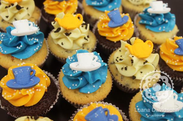 decoracao azul e amarelo para cha de bebe : decoracao azul e amarelo para cha de bebe:Chá de Cozinha Amarelo e Azul