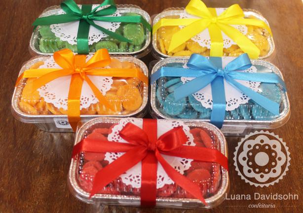 Cookies Coloridos na Marmita | Confeitaria da Luana