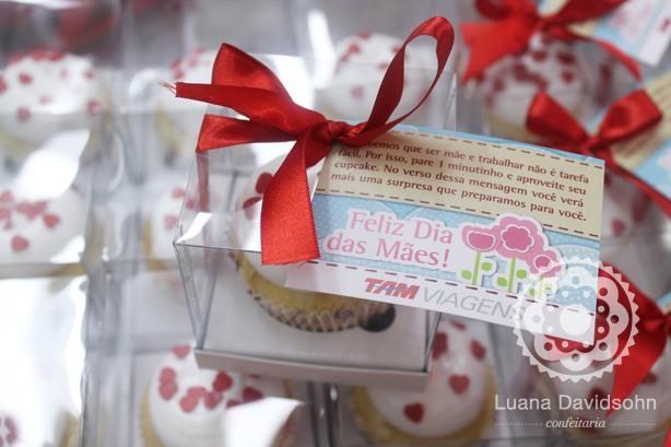 Cupcake Dia das Mães Tam