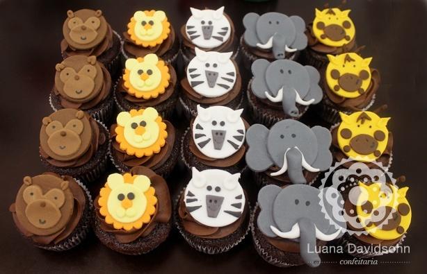 Cupcake de Bichinhos | Confeitaria da Luana