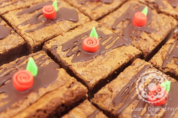 Brownie Presente Dia das Mães | Confeitaria da Luana