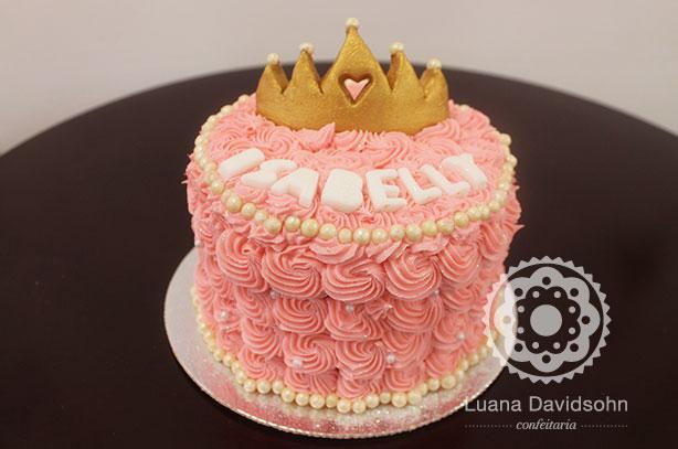 Bolo e Cupcakes de Princesa | Confeitaria da Luana