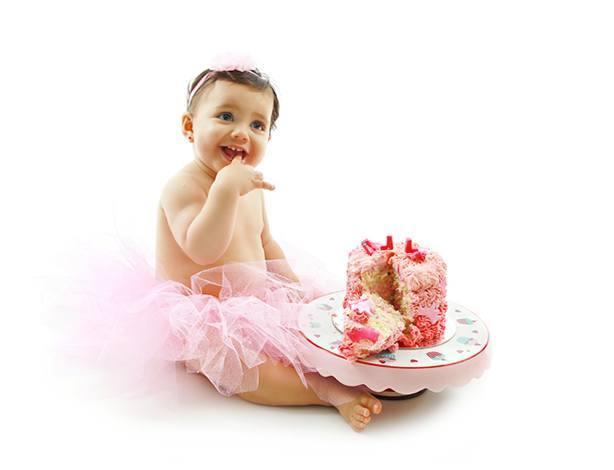 Bolo de Menina Smash The Cake