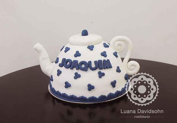 Bolo de Chá de Bebê | Confeitaria da Luana