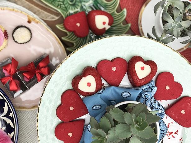 Cookie de Coração | Confeitaria da Luana