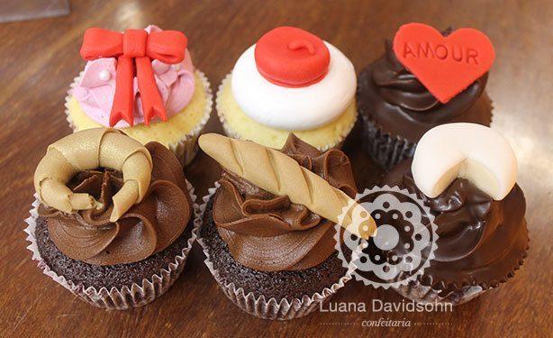 Cupcakes França | Confeitaria da Luana