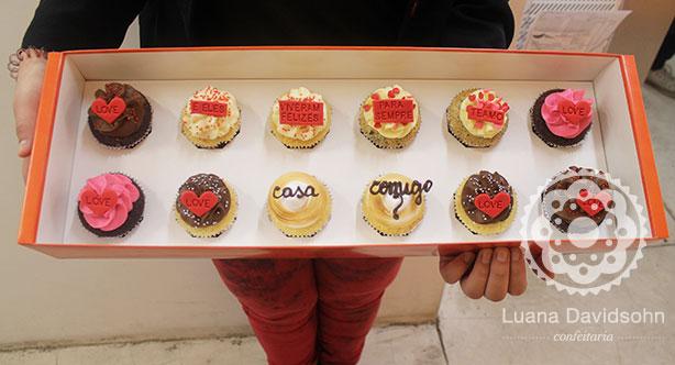Pedido de Casamento com Cupcake | Confeitaria da Luana