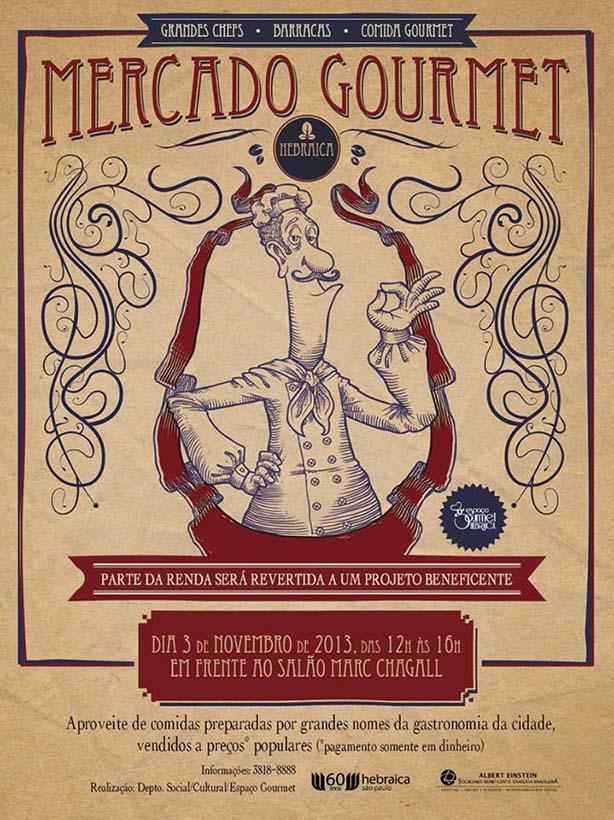 Mercado Gourmet: A Hebraica | Confeitaria da Luana