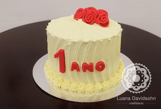 Festa de 1 ano de namoro | Confeitaria da Luana