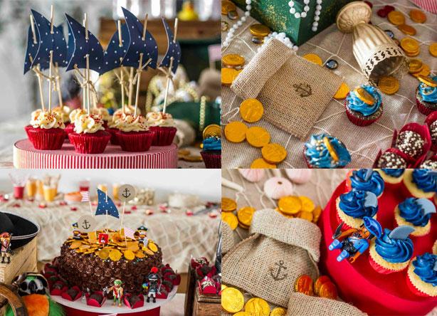 Festa de Piratas | Confeitaria da Luana