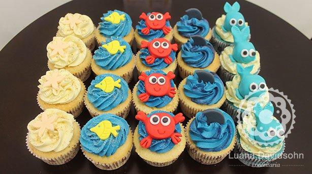 Cupcakes Festa Mar