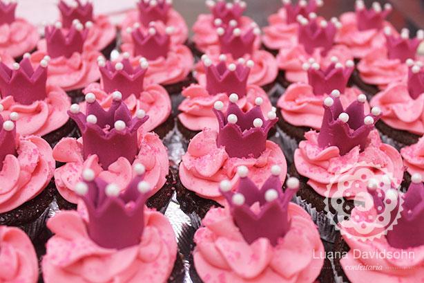 Cupcakes para Princesas | Confeitaria da Luana