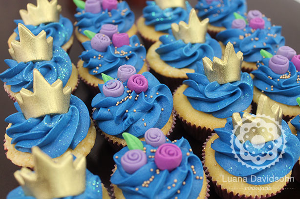 Cupcakes de Princesa | Confeitaria da Luana