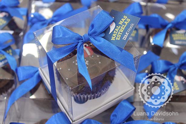 Cupcake de Natal IBM Week | Confeitaria da Luana
