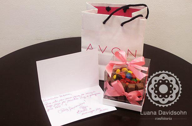 Mini Bolo Presente Corporativo | Confeitaria da Luana