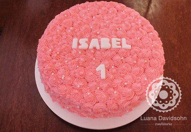 Festinha da Isabel de 1 ano | Confeitaria da Luana