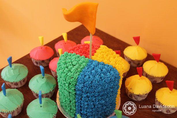Bolo de Circo | Confeitaria da Luana