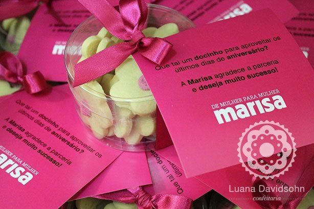 Presentes Corporativos Dia da Mulher | Confeitaria da Luana