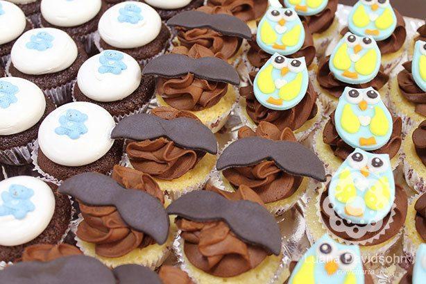 Cupcake para Chá de Bebê do Breno | Confeitaria da Luana