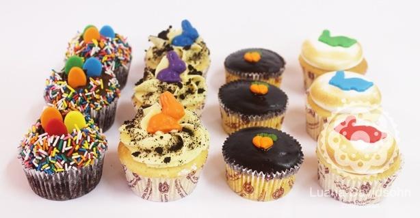 Cupcakes de Páscoa | Confeitaria da Luana