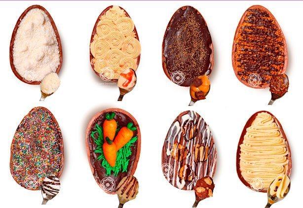 Ovos de Páscoa 2014! (produtos indisponíveis) | Confeitaria da Luana
