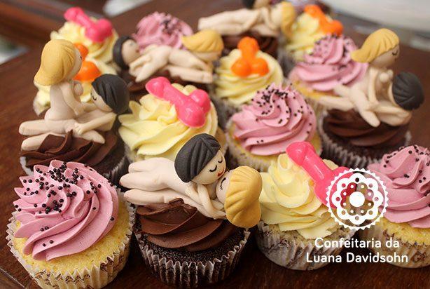 Cupcake Erótico Chá de Lingerie