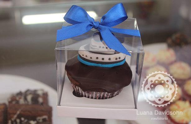 Cupcake de Navio Pullmantur   Confeitaria da Luana