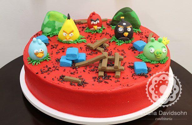 Festa do Angry Birds | Confeitaria da Luana