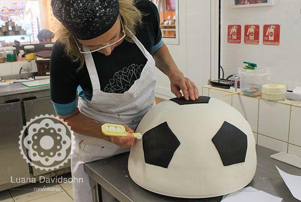 bolo de futebolgigante