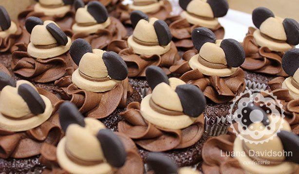 Cupcake Mickey Safari | Confeitaria da Luana