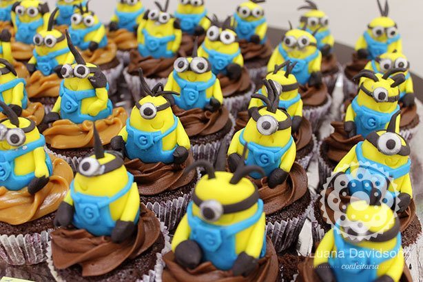 Cupcake de Minions