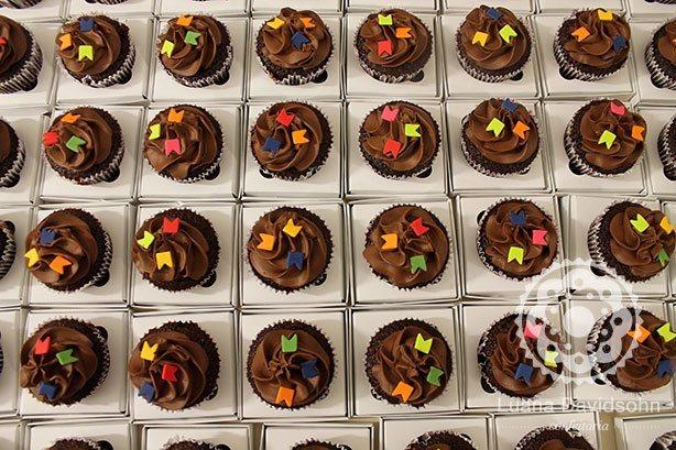Cupcakes Juninos para Febraban | Confeitaria da Luana