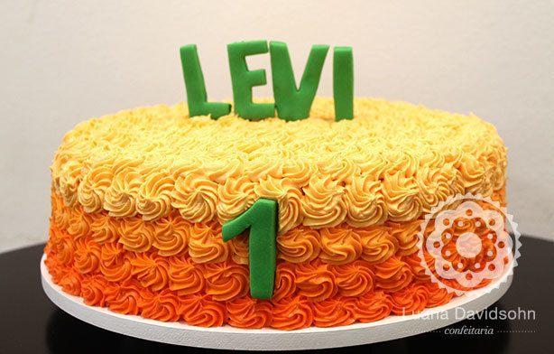 Bolo de Aniversário do Levi | Confeitaria da Luana