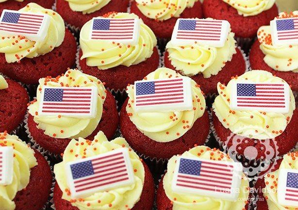 Red Velvet Cupcakes | Confeitaria da Luana