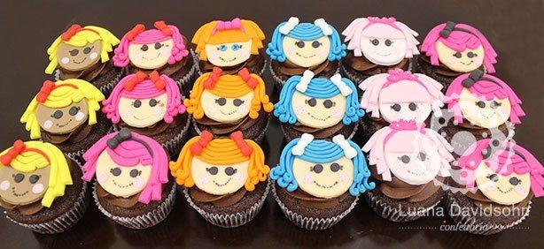 Cupcakes da Lalaloopsy | Confeitaria da Luana