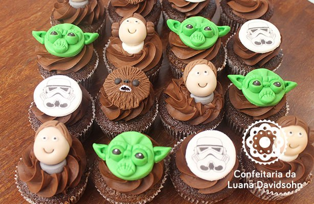 Cupcakes do Star Wars | Confeitaria da Luana