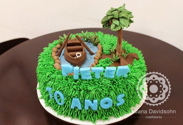 Bolo de Aniversário do Pieter | Confeitaria da Luana