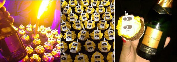 Cupcakes nos 25 anos da DM9DDB | Confeitaria da Luana