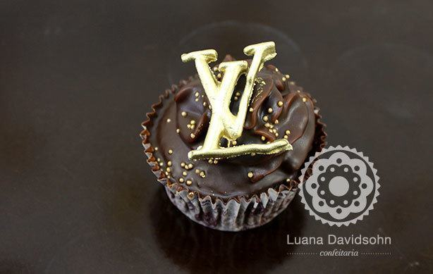 Cupcakes Louis Vuitton | Confeitaria da Luana