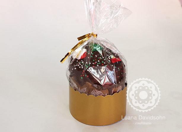 Chocotone Trufado Confeitaria da Luana