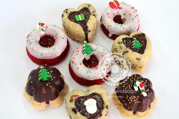 Bolos Caseiros Mini Natal | Confeitaria da Luana