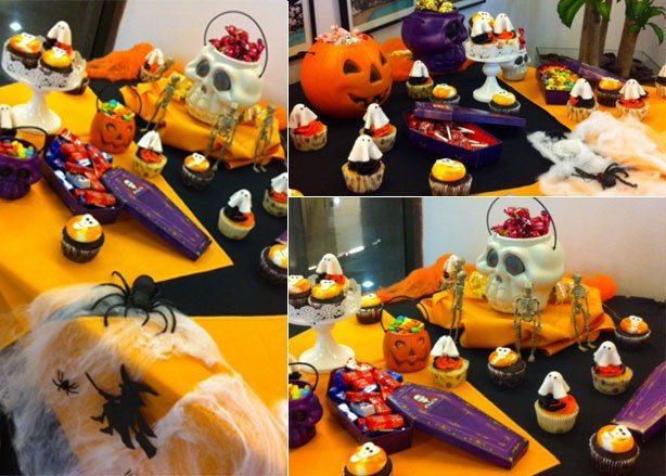 Mesa de Doces de Halloween | Confeitaria da Luana