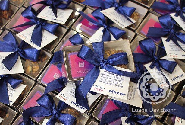 Brownie Datas Especiais | Confeitaria da Luana