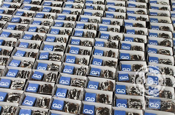 Mini Brownies para Gerdau | Confeitaria da Luana