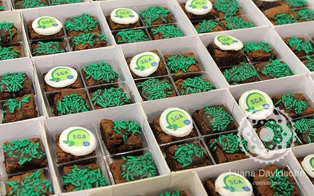 Brownies Presente Corporativo Libbs | Confeitaria da Luana